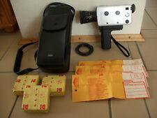 BRAUN Nizo 156 Macro Super 8 Filmkamera Schmalfilmkamera mit Ledertasche