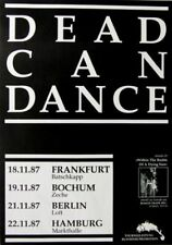 DEAD CAN DANCE - 1987 - Tourplakat - Within the realm of.... - Tourposter