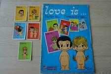 Love is ...PANINI sticker album + 5 losse stickers