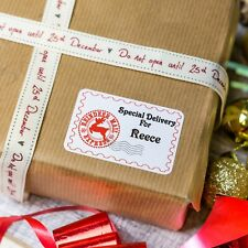 Personalised Christmas Stickers Special Delivery From Santa Present Gift Labels!