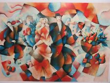 "GALINA DATLOOF - ""THE WEDDING""    LARGEST SERIGRAPH BY DATLOOF  HAND SIGNED #'ED"