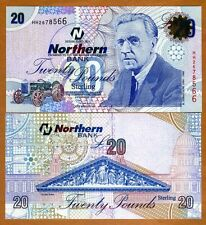 Ireland Northern Bank (no longer exists), 20 pounds, 2006, P-207b, UNC