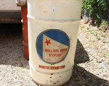 North Star William Penn Hypoid Oil Can Drum Rare Collectible Vintage Oil Sign