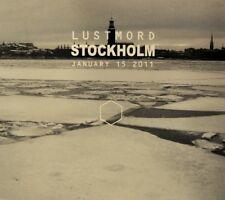 LUSTMORD Stockholm (january 15 2011) CD Digipack 2015 LTD.300