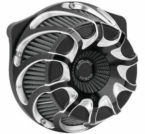 Arlen Ness Black Inverted Drift Air Cleaner 2017+ Touring & Softail M8 18-987