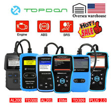 Automotive Code Reader OBD2 Diagnostic Scanner Car Engine ABS Airbag SRS Tools