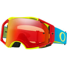 OAKLEY AIRBRAKE MX GOGGLES - FLO RED GREEN BLUE PRIZM TORCH