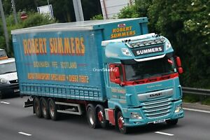 Truck Photos Scottish Robert Summers of Fife DAF 106XF & Tautliner SN21 ZVO