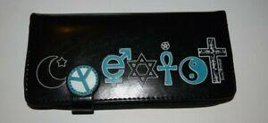 Purse Wallet bag coin Clutch Organizer money long design Shagwear Faith Coexist