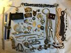 Job Lot Of Vintage Costume Jewellery/watches/curios - Spares Repair