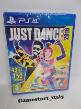 JUST DANCE 2016 - SONY PS4 - VIDEOGIOCO NUOVO SIGILLATO - NEW SEALED PAL VERSION
