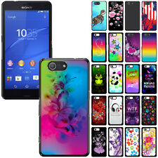 For Sony Xperia Z3 Compact Slim Design Protector Hard Back Case Cover Skin