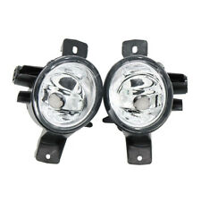 2Pcs Front Bumper Clear Fog Light Lamp For BMW X6 E71 E72 2008-2012