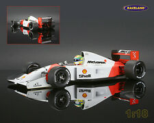 McLaren-Honda MP4-7 F1 1992 Ayrton Senna, Minichamps 1:18, 540921801, NEW, OVP