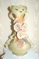 Antique Vintage ROYAL DUX Austria Porcelain Vase in Excellent Condition! Large!