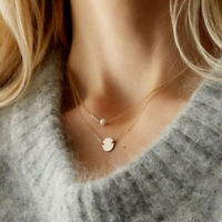 Pearl Clavicle chain Choker Jewelry Multi-layer Necklace Women Pendant Charm
