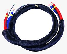 """PMC High Pressure Braided Heated Whip Hose 1/4"""" x 10'  With Scuff Jacket"""
