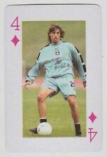 Football World Cup 2006 Playing Card single - Hernan Crespo - Chelsea Argentina
