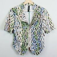 [ SAO PAULO ] Womens Print Jacket | Size EUR 40 or AU 12 / US 8