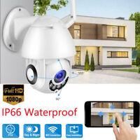5X ZOOM Outdoor Wireless CCTV HD 1080P WIFI IP Camera Home Security IR Night Cam
