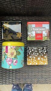 Tea Tins Yorkshire Gruffalo Joules Biscuit Tin Twinings
