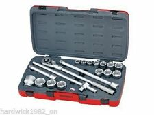 TENG TOOLS 18 PIECE 3/4 DRIVE SOCKET RATCHET EXTENSION TOOL SET IN CASE