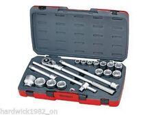 Teng Tools 18 piezas 3/4 Drive Zócalo Trinquete Extensión Conjunto de herramientas en caso de 6 puntos