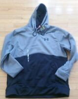 Under Armour Storm Coldgear Icon Black & Gray Hoodie - Men's X-Large - NWT