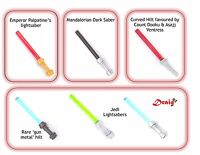LEGO Star Wars - Set of 6 unique genuine LEGO minifigure lightsabers - *NEW*