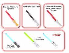 LEGO Star Wars - Set of 6 unique genuine LEGO minifigure lightsabers