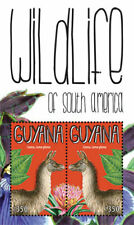 Guyana - 2012 - Wildlife Of South America - Souvenir Sheet - MNH