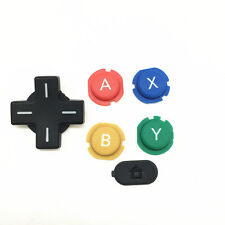 Ta Replacement ABXY Cross Press Key Pad Button Part for Nintendo NEW 3DS Console
