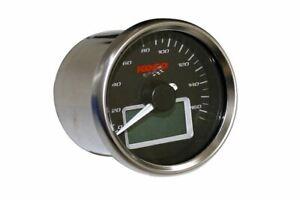 Tacho GP style D55, rund, 0-160 km/h, E-gepr.