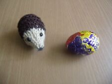 Mr Prickles the Hedgehog chocolate orange cover or 15ms toy KNITTING PATTERN