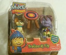 Mike The Knight Figure Toy Fisher-Price Trollee &Yip