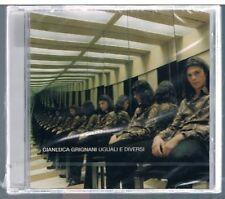 GIANLUCA GRIGNANI UGUALI E DIVERSI CD SIGILLATO!!!