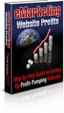 E-Marketing Website Profits Pdf eBook W/Master Resell Rights