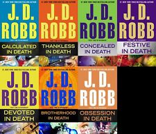 JD Robb In Death Series Collection Set Books 37-43 Paperback Nora Roberts New