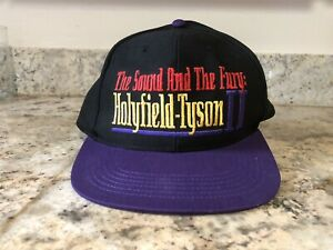 Vintage New Without Tags Holyfield vs. Tyson II The Sound and The Fury Hat 1997