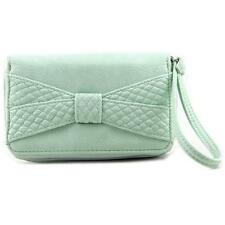 Bolsos de mujer de color principal verde de piel