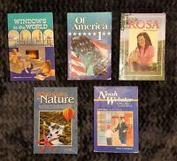 Abeka 5th Grade Language Arts Reading Literature Student Readers Lot Set Kit 5