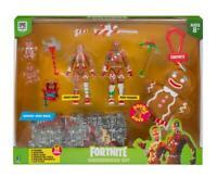 Fortnite - Actionfiguren 10cm Gingerbread Lebkuchen Set Weihnachts edtion