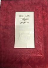 Seigneurs et Princes de Monaco illustré par philippe REDER, en feuilles,neuf