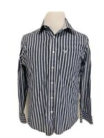American Eagle Outfitters Men's Long Sleeve Medium Button Up Stripe Shirt