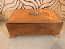 Lovely Art Deco Style Thorens Music Box With Roulette Wheel In Lid