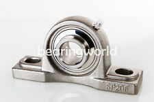 "1-1/4"" Stainless Pillow Block Bearing SUCSP207-20   UCP207-20    MUCP207-20"