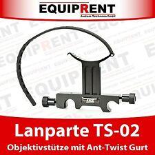 Lanparte TS-02 15mm Tele Lens Support / Objektivstütze mit Ant Twist Gurt EQ092