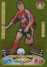 BERND SCHNEIDER # LEGENDE BAYER LEVERKUSEN CARD MATCH ATTAX BUNDESLIGA 2013