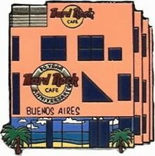 Hard Rock Cafe 2001 TIMELINE Series PIN #7/10 BUENOS AIRES HRC 30th Anniversary