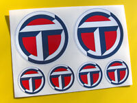 TALBOT logo vintage style rally Decals Stickers